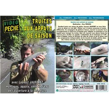 DVD - TRUITE AUX APPÂTS DE SAISON AVEC LAURENT JAUFFRET
