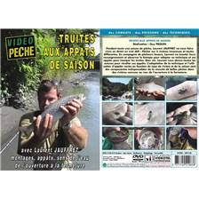 DVD - TRUITE AUX APPÂTS DE SAISON AVEC LAURENT JAUFFRET - PÊCHE DE LA TRUITE - VIDÉO PÊCHE