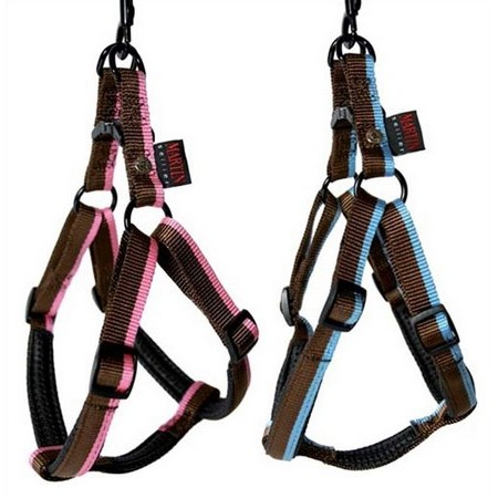 EASY FIT COMFORT BLUE/PINK DOG   HARNESS MARTIN SELLIER