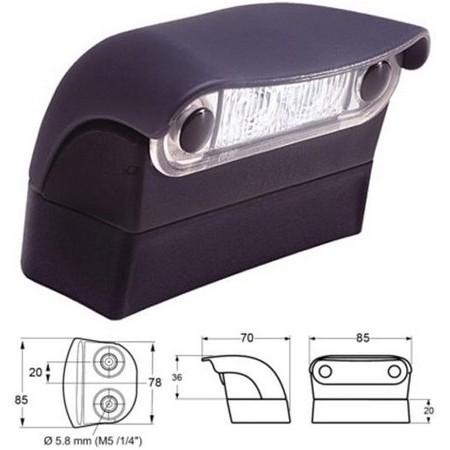 eclairage de plaque plastimo pour remorque. Black Bedroom Furniture Sets. Home Design Ideas