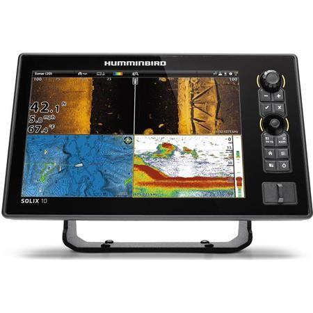 ECOSCANDAGLIO GPS HUMMINBIRD SOLIX 10 G2 MSI +