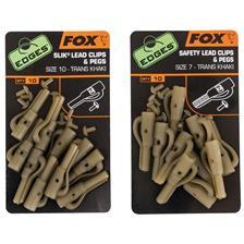 EDGES™ LEAD CLIP + PEGS FOX EDGES LEAD CLIPS & PEGS