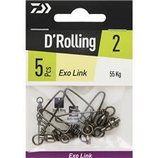 Tying Daiwa EXO LINK N°1