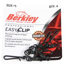 Tying Berkley MC MAHON EASY CLIP SNAPS/SWIVELS N° 5