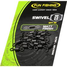 EMERILLON CARPE FUN FISHING SWIVELS