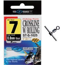 Tying Sunset CROSSLINE W / ROLLING ST S 1025 N°7