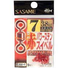 Tying Sasame ROLLING RED N°6