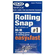 Tying Vanfook ROLLING SNAP 6