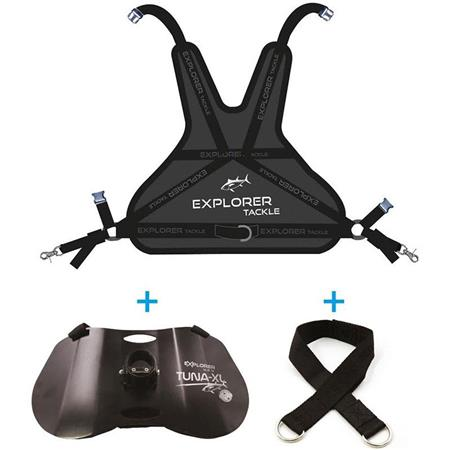 ENSEMBLE HARNAIS DORSAL + BAUDRIER EXPLORER TACKLE TUNA-XL