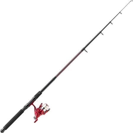 ENSEMBLE LANCER TELESCOPIQUE MITCHELL GT PRO SPIN TELESCOPIC ROUGE