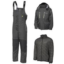ENSEMBLE SALOPETTE ET VESTE HOMME IMAX ATLANTIC CHALLENGE -40 THERMO SUIT - GRIS