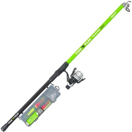 ENSEMBLE SERT KIT FISH 'N PLAY TELEPIKE 3504 + 401RD + BOX