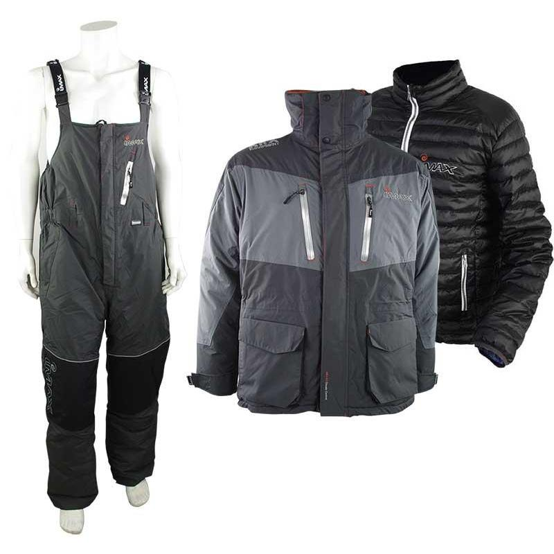 ENSEMBLE VESTE ET SALOPETTE IMAX ARX-40 POLE THERMO SUIT - GRIS - M