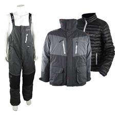 ENSEMBLE VESTE ET SALOPETTE IMAX ARX-40 POLE THERMO SUIT - NOIR