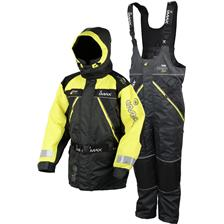 ENSEMBLE VESTE ET SALOPETTE IMAX ATLANTIC RACE FLOATATION SUIT - NOIR/JAUNE