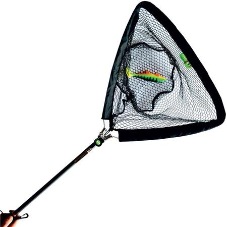 EPUISETTE PAFEX TOP FISHING MANCHE ALU RENFORCE FILET ANTI-A BRANCHES DE 50CM