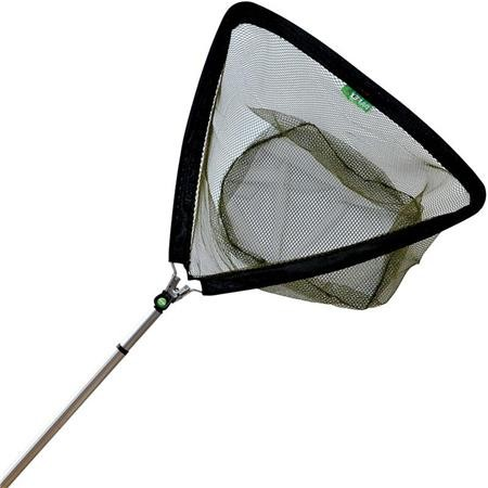 EPUISETTE PAFEX TOP FISHING MANCHE ALU RENFORCE FILET SANS NOEUD BRANCHES 64CM
