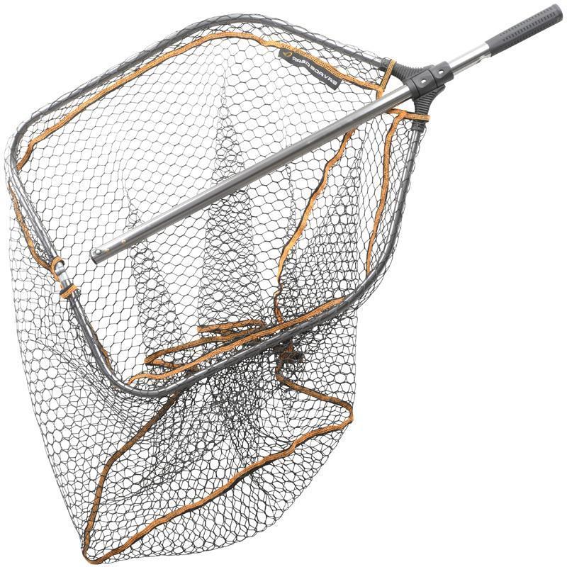 46 x 56 x 65 Savage Gear EPUISETTE Raquette Pro FINEZZE Rubber Mesh Net