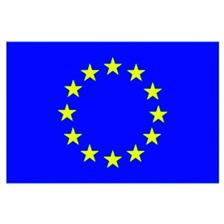 FAHNE EU/FRANCE FORWATER PAVILLON EURO-FRANCE