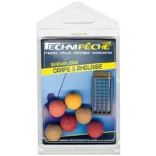 Baits & Additives Technipêche FAUSSE BOUILLETTE FLOTTANTE TECHNIPECHE O 14 MM
