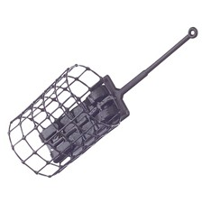 FEEDER A AMORCE CAGE METAL ROND 20G