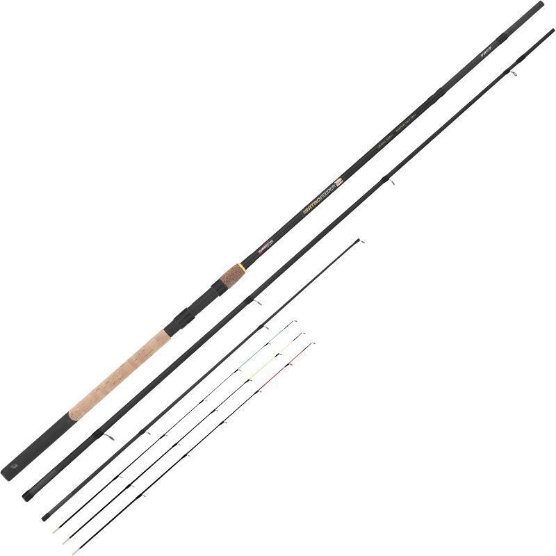 Feeder rod tubertini nitro feeder 2 for Nitro fishing rods
