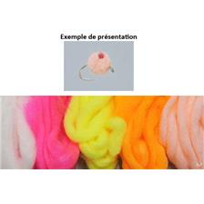 FIBRE TOF EGG YARN - EGG - Fluo Chartreuse