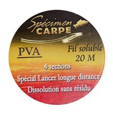 Accessoires Specimen Carpe FIL SOLUBLE PVA LONGUEUR: 20M