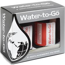 FILTRO WATER-TO-GO PARA BIDÓN BEBIDA FILTRATION SYSTEM 0.75L - PAQUETE DE 2