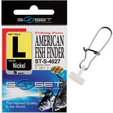 FISCHFINDER SUNSET AMERICAN FISH FINDER ST-S-4027 - 5ER PACK