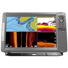 FISHFINDER GPS LOWRANCE HOOK 2 - 12 TRIPLE SHOT