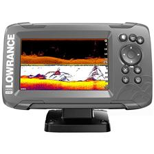 FISHFINDER GPS LOWRANCE HOOK 2 - 5 SPLIT SHOT