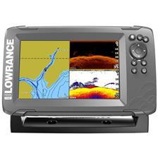 FISHFINDER GPS LOWRANCE HOOK 2 - 7 SPLIT SHOT
