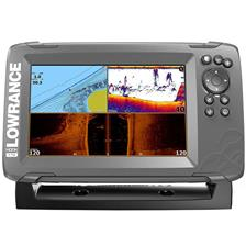 FISHFINDER GPS LOWRANCE HOOK 2 - 7 TRIPLE SHOT