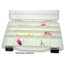FISHING PLASTIC BOX TRANSPARENT PAFEX