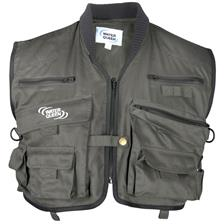 FISHING VEST WATER QUEEN 12 POCKETS - KAKI