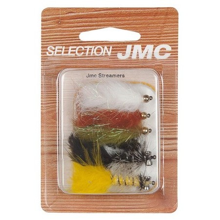 FLIEGENSET STREAMER JMC - 6ER PACK