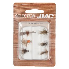 FLIES SELECTION CADDIS FLY JMC - PACK OF 6