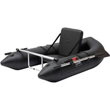 FLOAT TUBE DAM BELLY BOAT WITH OARS & FOOT RESTS
