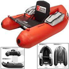 FLOAT TUBE SEVEN BASS BRIGAD 160 - ROUGE