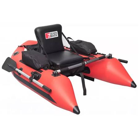 FLOAT TUBE SEVEN BASS COBRA 170 - ROUGE