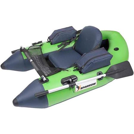 FLOAT TUBE SPARROW MURANO 170 CHARTREUSE