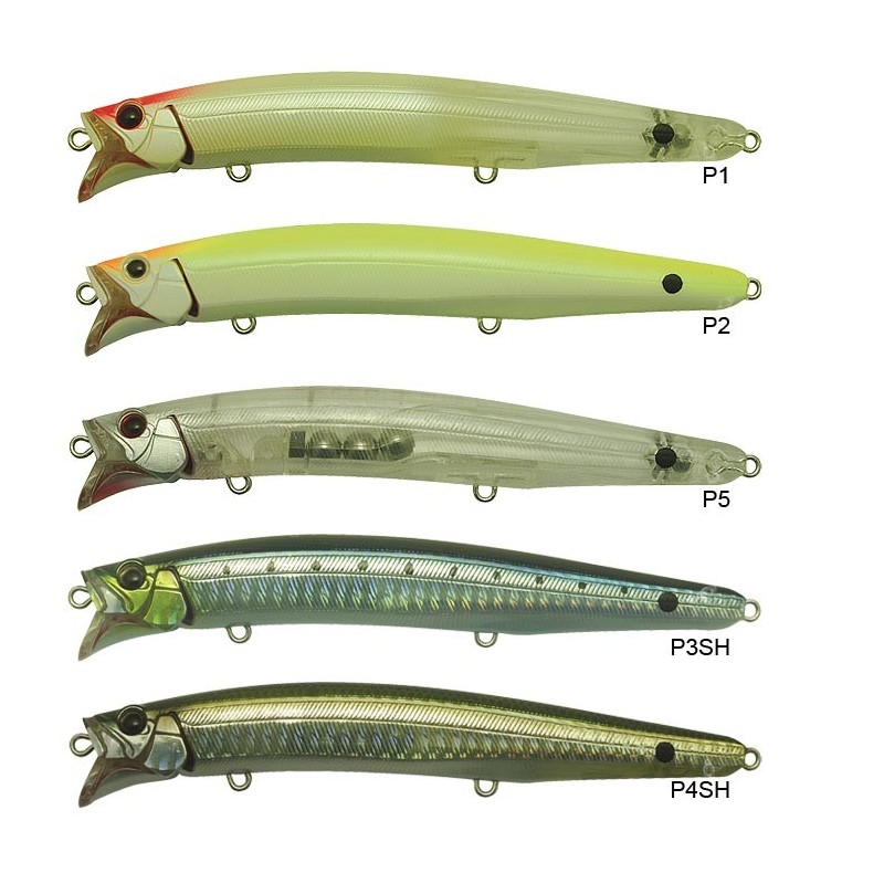 Floating lure tackle house feed shallow