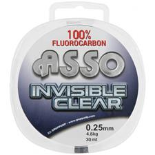 FLUOROCARBON ASSO INVISIBLE CLEAR