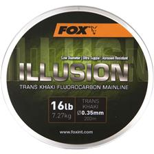 FLUOROCARBON FOX ILLUSION SOFT MAINLINE - 200M - PACK OF 3