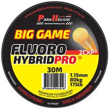 FLUOROCARBON PARALLELIUM FLUOROHYBRID PRO BIG GAME LEADER - 30M