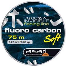 Leaders Asari FLUORO CARBON SOFT 75M 20/100