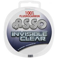 FLUOROCARBONE ASSO INVISIBLE CLEAR - 100M