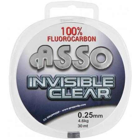 FLUOROCARBONE ASSO INVISIBLE CLEAR - 30M