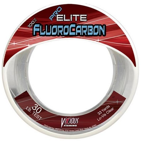 FLUOROCARBONE CARNASSIER VICIOUS FISHING PRO ELITE FLUOROCARBON - 30M
